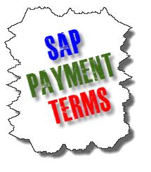 SAP Payment Terms