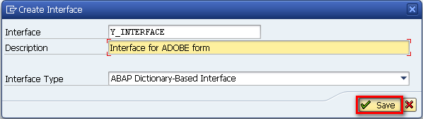 Create an SAP Interface