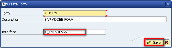 SAP Form Builder - Name Your Form