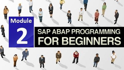 SAP ABAP Course Module 2