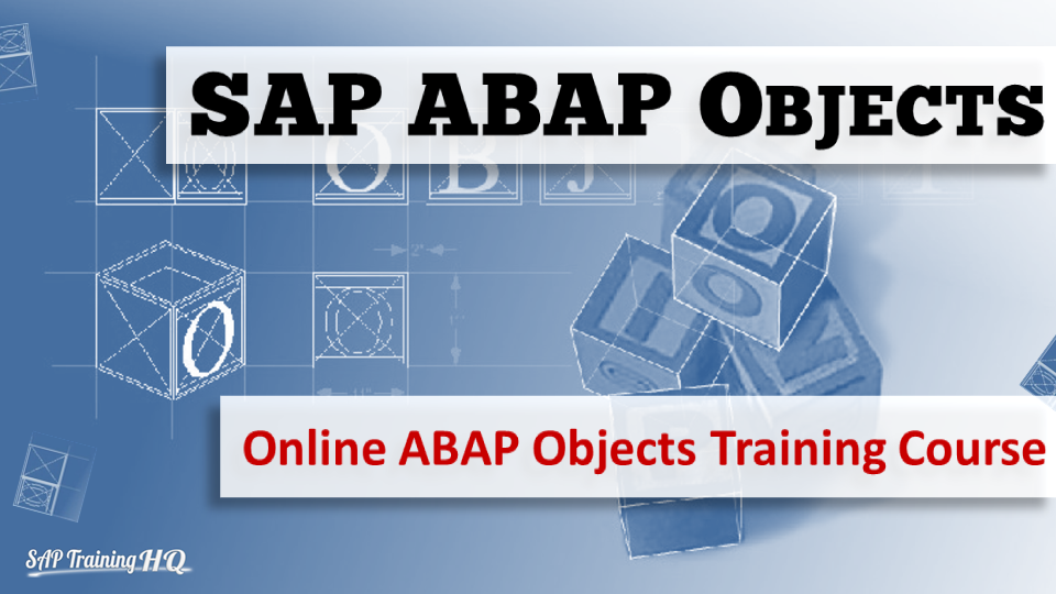 SAP ABAP Objects Course