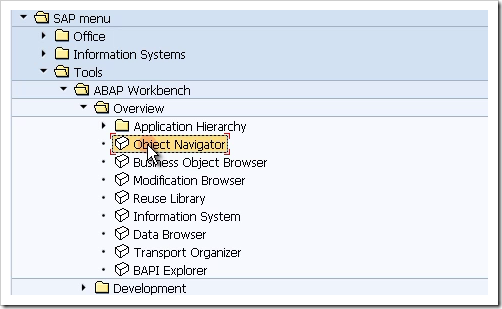 First Look At The SAP ABAP Workbench