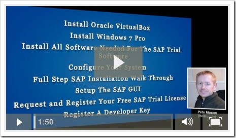 Free SAP Trial Installation Course