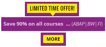 SAP Training Discount Coupon Codes
